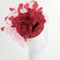Alexandria Sinamay Straw Fascinator Hat alternate view 10