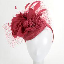 Alexandria Sinamay Straw Fascinator Hat alternate view 11