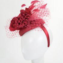 Alexandria Sinamay Straw Fascinator Hat alternate view 12