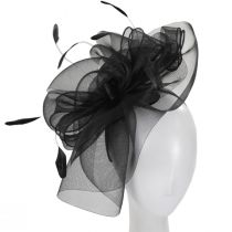 Duvalle Crinoline Fascinator Headband alternate view 2
