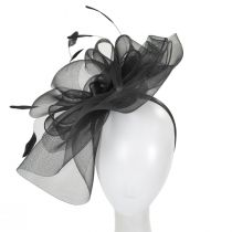 Duvalle Crinoline Fascinator Headband alternate view 3