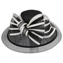 Jeltrim Sinamay Straw Big Brim Swinger Hat alternate view 6