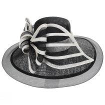 Jeltrim Sinamay Straw Big Brim Swinger Hat alternate view 7