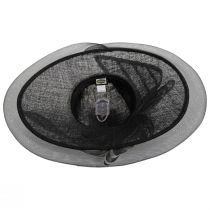 Jeltrim Sinamay Straw Big Brim Swinger Hat alternate view 8