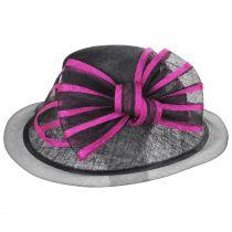 Jeltrim Sinamay Straw Big Brim Swinger Hat alternate view 3