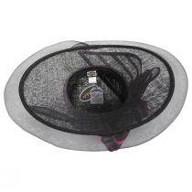 Jeltrim Sinamay Straw Big Brim Swinger Hat alternate view 4
