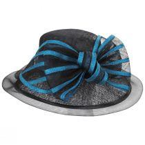 Jeltrim Sinamay Straw Big Brim Swinger Hat alternate view 11