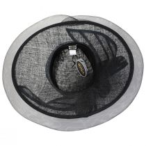 Jeltrim Sinamay Straw Big Brim Swinger Hat alternate view 12
