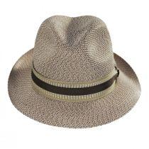 Monet Tweed Straw Braid Fedora Hat alternate view 6