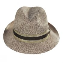 Monet Tweed Straw Braid Fedora Hat alternate view 14