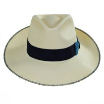Dega Shantung Straw Fedora Hat alternate view 2