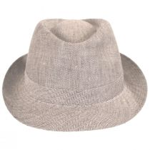 Osceola Linen Fedora Hat alternate view 10