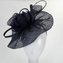 Prestonia Rhinestone Sinamay Straw Fascinator Headband alternate view 7