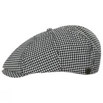 Brood Plaid Cotton Newsboy Cap alternate view 3