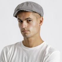 Brood Plaid Cotton Newsboy Cap alternate view 15