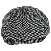 Brood Plaid Cotton Newsboy Cap alternate view 17