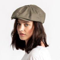 Brood Solid Ripstop Cotton Newsboy Cap alternate view 5