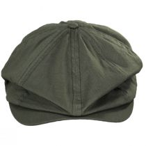 Brood Solid Ripstop Cotton Newsboy Cap alternate view 9