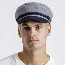 Tweed Cotton Linen Blend Fiddler Cap alternate view 12