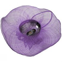 Beechmont Sinamay Straw Swinger Hat alternate view 16
