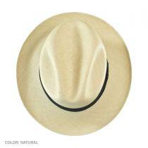 Brisa Grade 8 Panama Straw Fedora Hat in