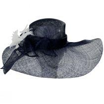 Wyandotte Sinamay Straw Boater Hat alternate view 6