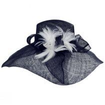 Wyandotte Sinamay Straw Boater Hat alternate view 7