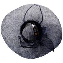 Wyandotte Sinamay Straw Boater Hat alternate view 8