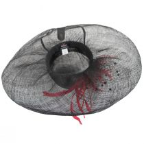 Hazelwood Sinamay Straw Swinger Hat alternate view 4