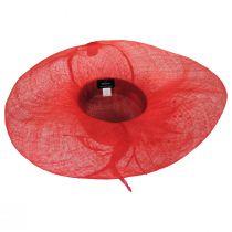 Hazelwood Sinamay Straw Swinger Hat alternate view 8