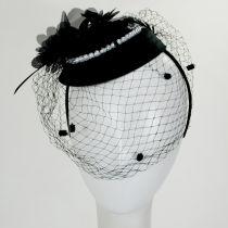 Velvet and Pearl Fascinator Hat alternate view 3