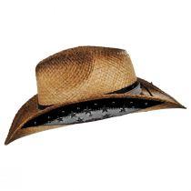 Star Spangled Toyo Straw Western Hat alternate view 3