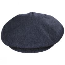 Curry Denim Cotton and Linen Ivy Cap alternate view 10