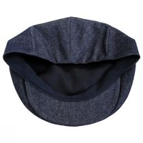 Curry Denim Cotton and Linen Ivy Cap alternate view 16