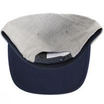 Oath III Gray and Navy Snapback Baseball Cap alternate view 4