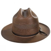 Open Road Vented Shantung Straw Western Hat alternate view 2