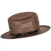 Open Road Vented Shantung Straw Western Hat alternate view 11