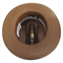 Open Road Vented Shantung Straw Western Hat alternate view 12