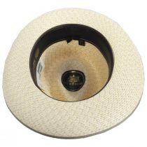 Stratoliner Milan Straw Mix Fedora Hat alternate view 16