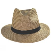 Lera III Cooper Palm Straw Fedora Hat alternate view 2