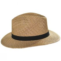 Lera III Cooper Palm Straw Fedora Hat alternate view 3