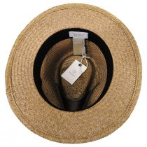 Lera III Cooper Palm Straw Fedora Hat alternate view 4