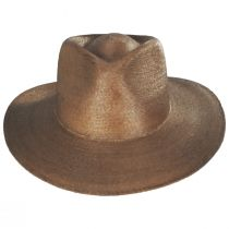 Marcos Palm Straw Fedora Hat alternate view 2