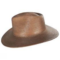 Marcos Palm Straw Fedora Hat alternate view 3