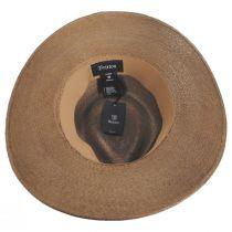 Marco Palm Straw Fedora Hat alternate view 12