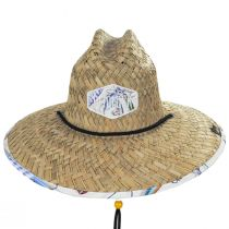 Cast Away Straw Lifeguard Hat alternate view 2