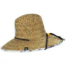Cast Away Straw Lifeguard Hat alternate view 3