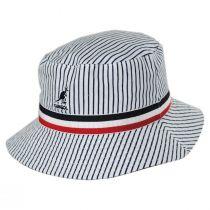 Fred Segal Reversible Cotton Blend Bucket Hat alternate view 7