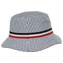 Fred Segal Reversible Cotton Blend Bucket Hat alternate view 8