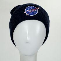 Cuffed NASA Knit Beanie Hat alternate view 2